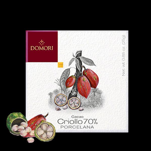 Domori - Schokolade Porcelana 70% Criollo