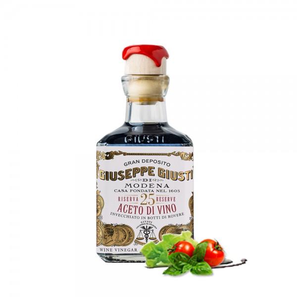 Giuseppe Giusti - Aceto di Vino Gran riserva 25, 250 ml