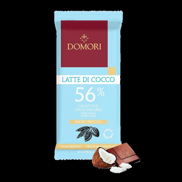 Domori - Latte di Cocco 56% - 75g