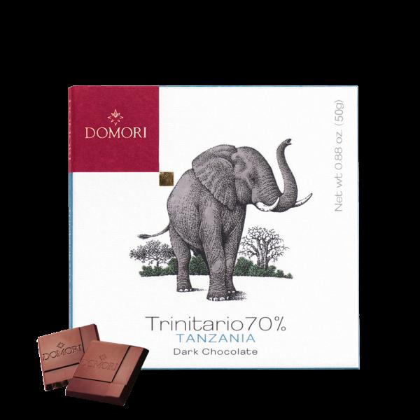 Domori - Linea Trinitario Tanzania, 70% - 50g