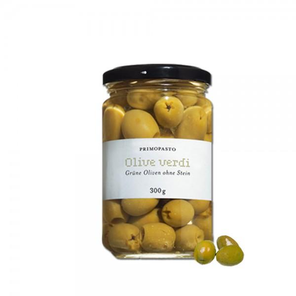 Primopasto - Oliven grün ohne Stein 300g