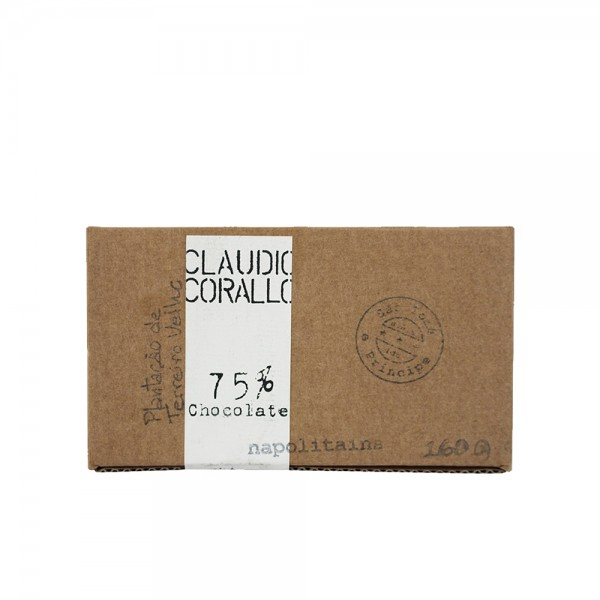 Claudio Corallo Chocolate Napolitains 75% 160g