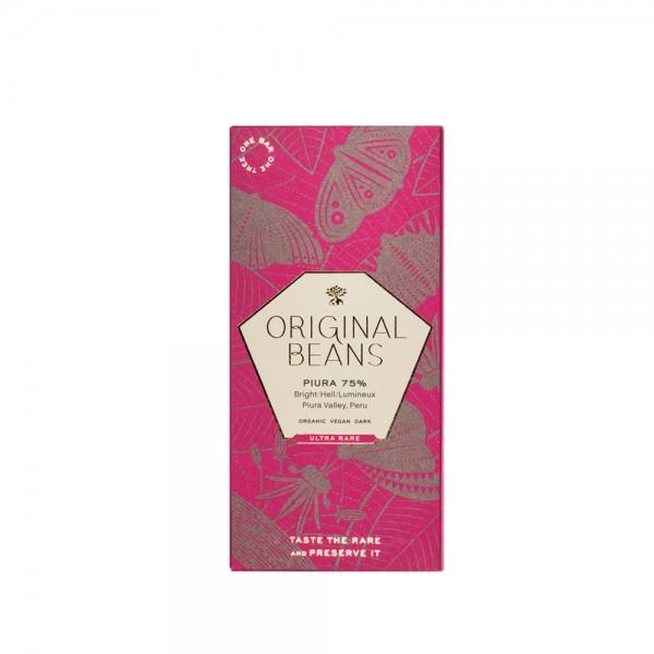 Original Beans - Organic Piura Porcelana 75% 70g