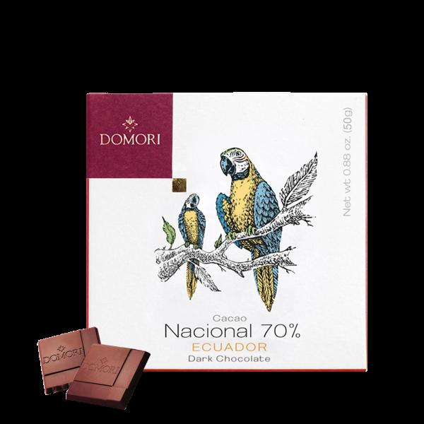 Domori - Schokolade Nacional Ecuador 70% - 50g