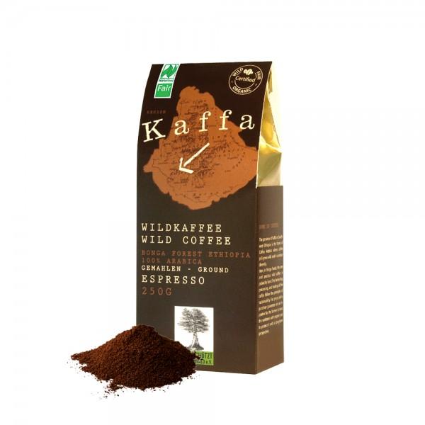 Kaffa Kaffee - Bio Espresso gemahlen 250g