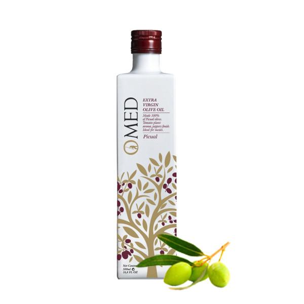 O-Med - Picual Olivenöl nativ extra 0,5 l