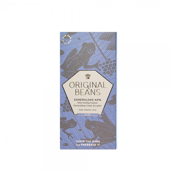 Original Beans - Esmeralda Milk Fleur de Sel 70g