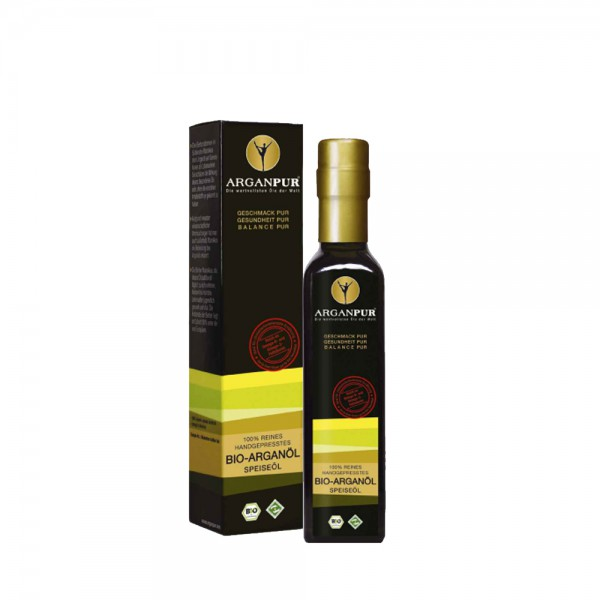Arganpur Arganöl Bio Speiseöl 250 ml