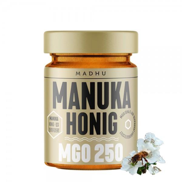 Madhu - Manuka Honig MGO250 250g