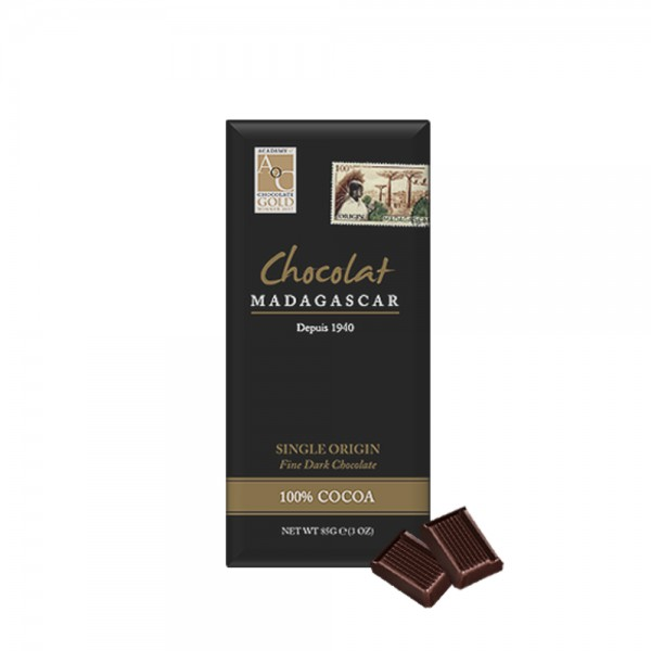 Madagaskar - Single Origin Fine Dark Chocolate 100%