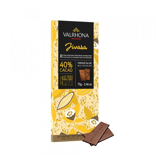 Valrhona, Jivara 40% Vollmilchschokolade