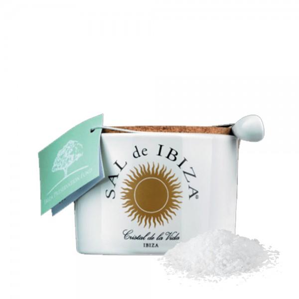 Sal de Ibiza - Fleur de Sel Isla Blanca 140g