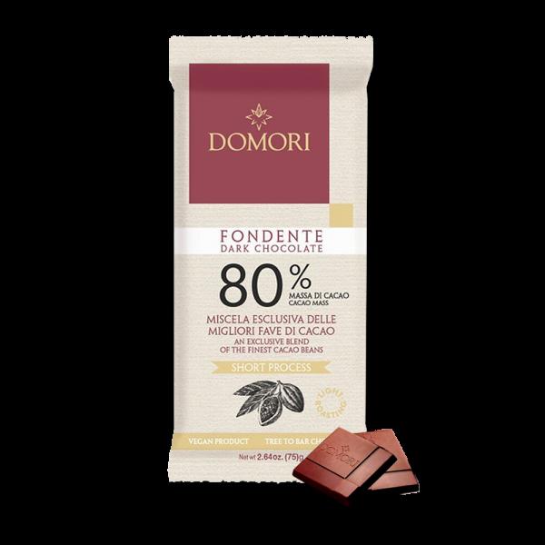 Domori - Schokolade Fondente 80% - 75g