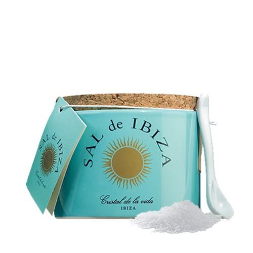 Sal de Ibiza - Fleur de Sel im Steintopf 150g