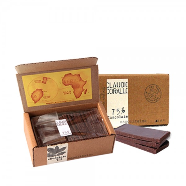 Claudio Corallo Chocolate Napolitains 75% 160g
