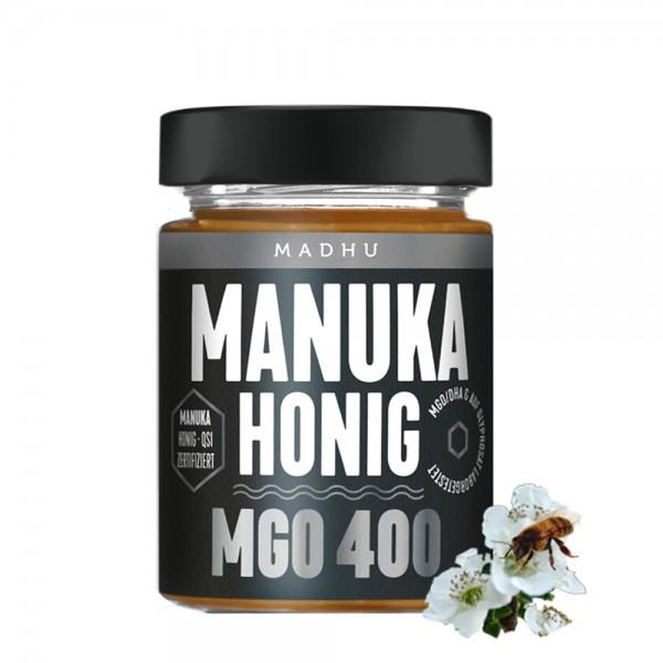 Madhu - Manuka Honig MGO 400, 250g