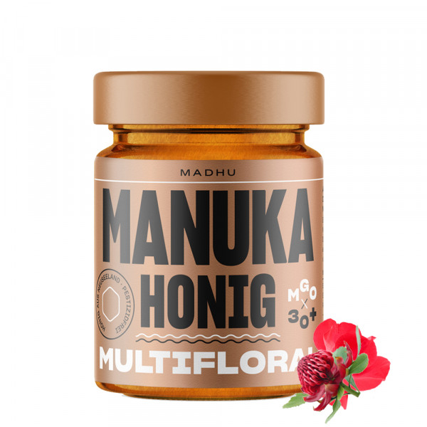 Madhu - Manuka-Honig Multifloral MGO 30