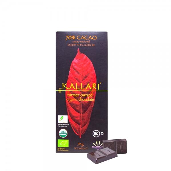 Kallari - BIO Schokolade 70%