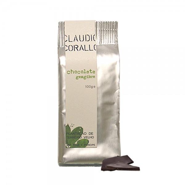 Claudio Corallo-Schokolade Ingwer 70% 100g