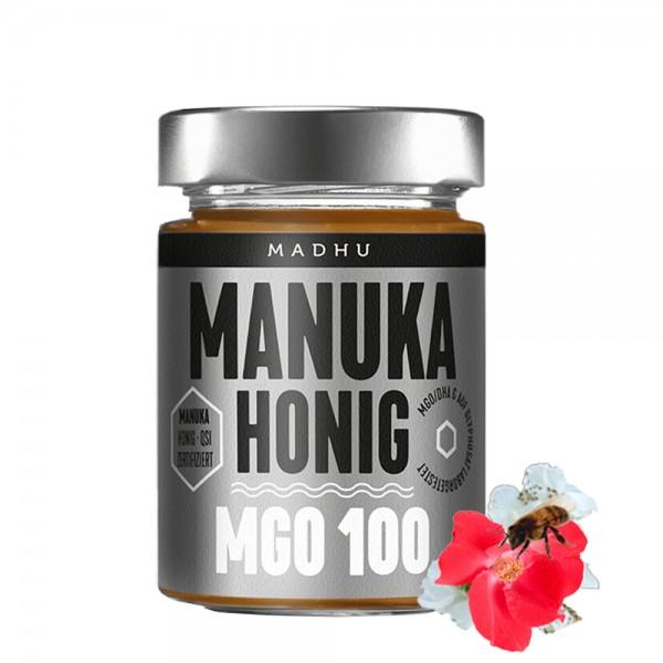 Madhu - Manuka Honig MGO 100, 250g