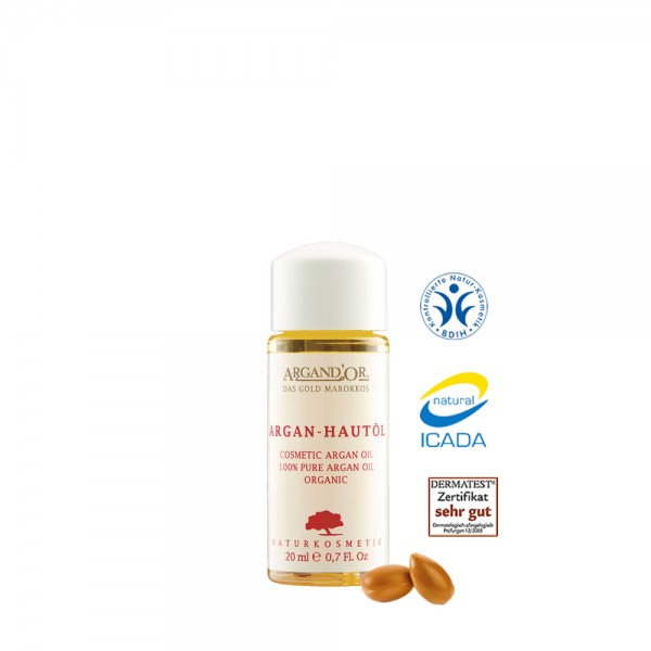 Argand'Or - Argan Hautöl bio, 100% rein, 20ml
