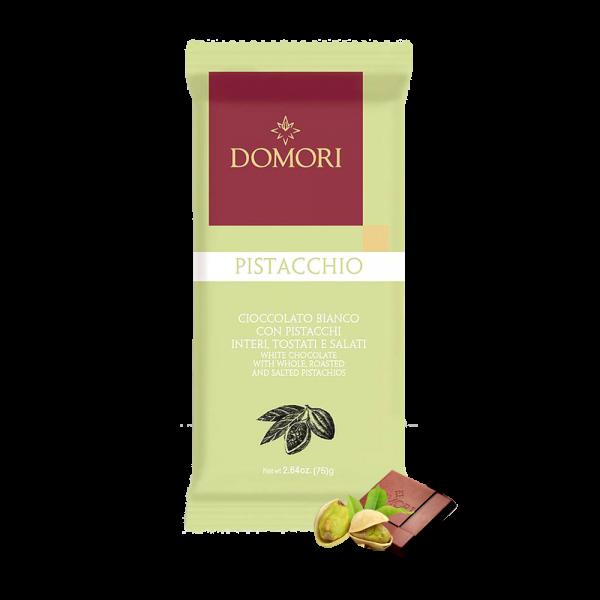 Domori - Pistacchio Bianco, 75g
