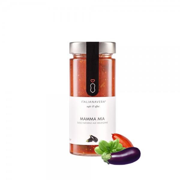 Italianavera - Mamma Mia - Tomaten Aubergine Sauce 280 g