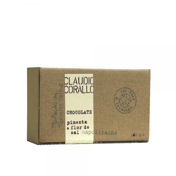 Claudio Corallo-Schokolade pimenta & flor de sal 70% 160g