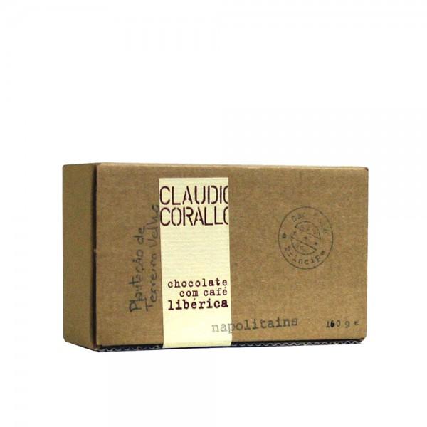 Claudio Corallo-Schokolade café libérica Napoltains 70% 160g